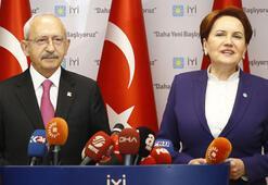 Kılıçdaroğlu-Akşener görüşmesi sona erdi İki liderden ortak açıklama