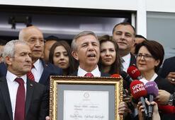 Mansur Yavaş, belediye başkanlığı görevini devraldı