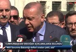 Cumhurbaşkanı Erdoğan: Milli Savunma Bakanlığı defteri oradan çekti, aldı
