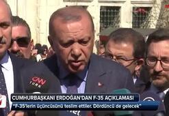 Cumhurbaşkanı Erdoğandan F-35 ve S-400 açıklaması