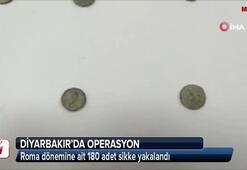 Roma dönemine ait 180 adet sikke yakalandı