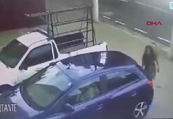 Cüzdanını isteyen soyguncuya silah çekti
