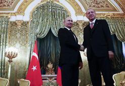 Cumhurbaşkanı Erdoğan ve Putinden önemli açıklamalar