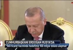 Cumhurbaşkanı Erdoğan Rusyada