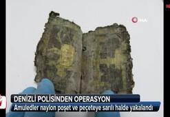 1500 yıllık Amuled Denizliden çıktı
