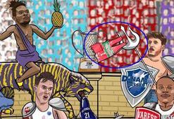 FIBA Europeun karikatürü, Karşıyakayı kızdırdı