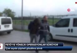 Bir çok ilde FETÖ operasyonu: Çok sayıda gözaltı