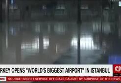 CNN Internationaldan İstanbul Havalimanına büyük övgü