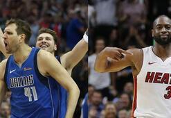 Nowitzki ve Wadeden NBAe veda