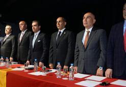 Galatasarayın Divan Kurulu Toplantısında yönetim tam kadro