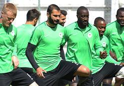 Atiker Konyasporda Sivasspor mesaisi