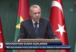 Cumhurbaşkanı Erdoğanda Sudandaki darbe ile ilgili flaş açıklama