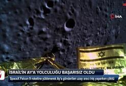 İsrailin Aya insansız uzay aracı indirme girişimi başarısız oldu