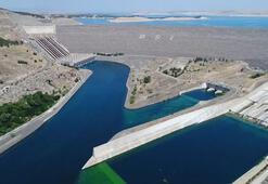Atatürk Barajında doluluk oranı yüzde 40 arttı