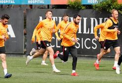 Galatasarayda derbi hazırlığı