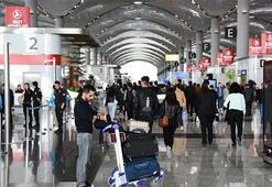 İstanbul Havalimanı'nı 7-11 Nisan'da 634 bin yolcu kullandı
