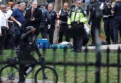 Beyaz Sarayın önüne geldi ve... Korku dolu anlar