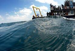 Denizlerden 63 futbol sahası büyüklüğünde hayalet ağ çıkarıldı