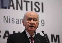 MHP lideri Bahçeliden flaş açıklamalar