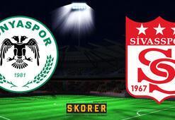 Atiker Konyaspor - Demir Grup Sivasspor: 1-1
