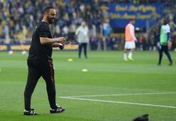 Maç öncesi gerginlik Hasan Şaş ve Volkan...