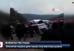 Bursada trafik kazası
