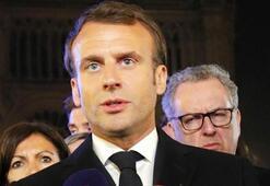 Macron: Savaş tam olarak kazanılmasa da en kötüsü yaşanmadı