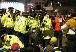 Londradaki çevreci işgal eyleminde 47 gözaltı