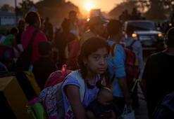 Meksikada göçmen konvoyuna karşı olağanüstü hal ilan edildi