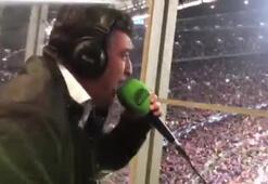 İspanyol spiker Messinin gollerinde kendinden geçti