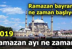Ramazan ayı ne zaman başlıyor 2019 Ramazan Bayramı tatili kaç gün olacak