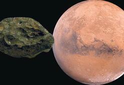 Marsta yaşam izi... Gök taşında tespit edildi