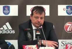 "Ergin Ataman: ""Barcelona'ya 2-0 gitmeliyiz"""
