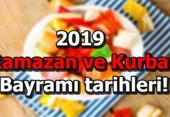Ramazan Bayramı hangi günlere denk geliyor 2019 Kurban Bayramı tarihi