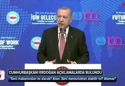 Cumhurbaşkanı Erdoğan: Seni memurluktan atabilir mi Atamaz
