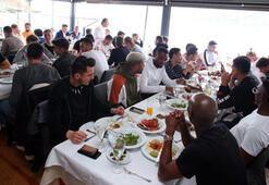 Beşiktaşta moral yemeği