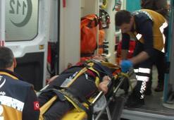 Tekirdağda öğrenci servisi devrildi Çok sayıda yaralı var