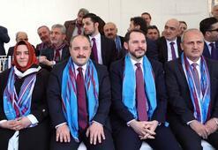 Bakan Albayrak, Bakan Varank ve Bakan Turhan, Trabzon Günleri etkinliğine katıldı