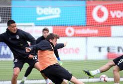 Beşiktaş taktik ve şut çalıştı