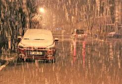 Türkiyenin birçok yerinde kar yağışı etkili oluyor
