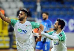 Bursasporun penaltı şanssızlığı sona erdi