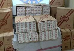 Tam 65 bin paket Hepsi ele geçirildi