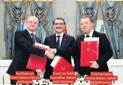 Hazar'ın kaynakları için 'üçlü diyalog'