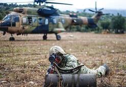 PKKlı teröristlerin kullandığı 9 sığınak imha edildi