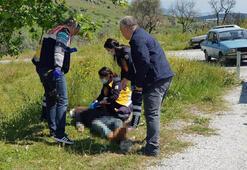 Çoban, yol kenarında ölü olarak bulundu