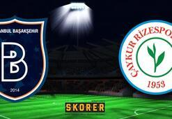 Medipol Başakşehir-Çaykur Rizespor(Maç önü)