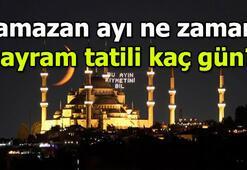 Ramazan Bayramı hangi günlere denk geliyor 2019 Ramazan ayı ne zaman