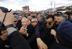 Son dakika: Kılıçdaroğlu katıldığı şehit cenazesinde saldırıya uğradı