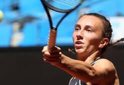 TEB Kadınlar Tenis Turnuvasında İpek Özden veda