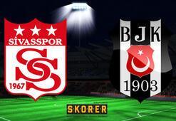 Demir Grup Sivasspor-Beşiktaş: 1-2